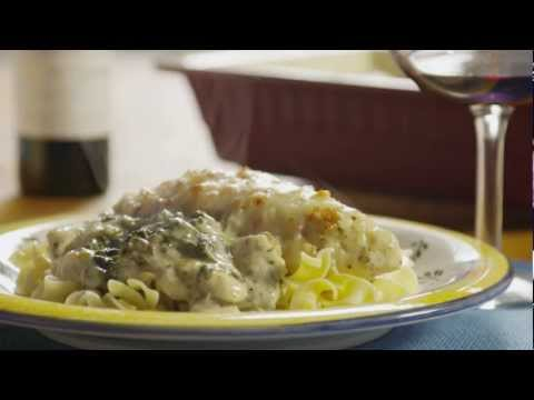 How to Make a Chicken Florentine Casserole