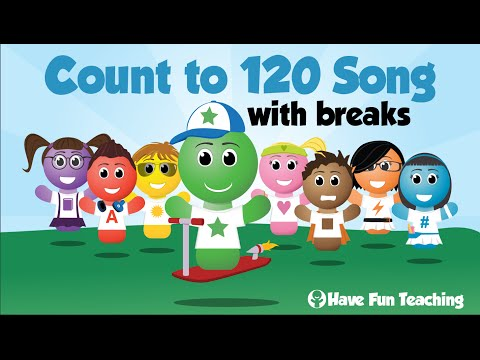 Count to 120 Song With Breaks  Audio