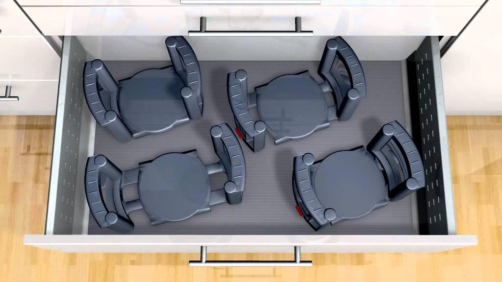 Blum Dynamic Space - Plate Holders & Blum Dynamic Space - Plate Holders - YouTube