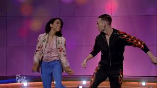 """""""Dancing with the Stars Winners"""" Adam Rippon and Jenna Johnson Perform"""
