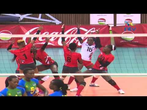 Kenya beats Rwanda by straight sets in  Africa Cup of Nations volleyball tourney