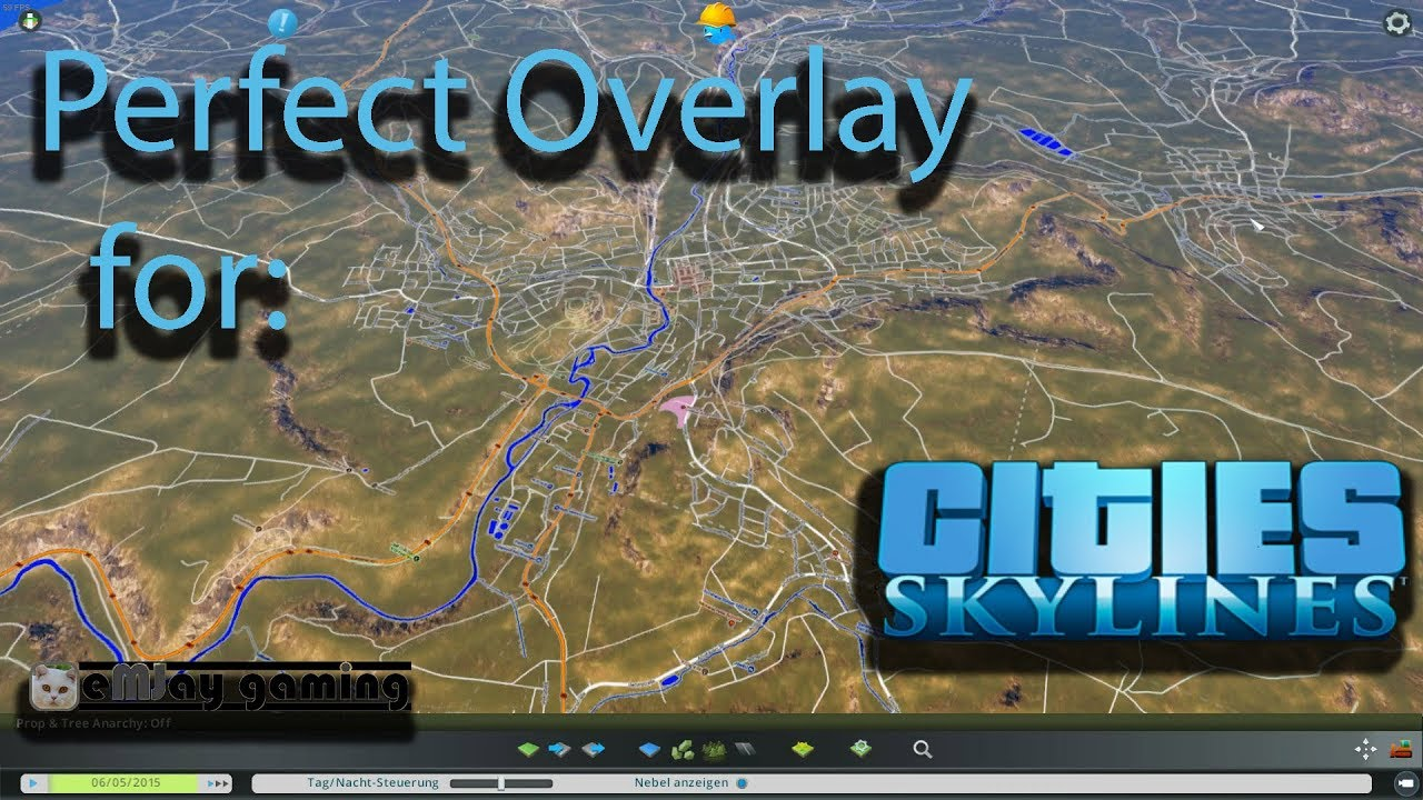 Perfect overlay for Cities Skylines