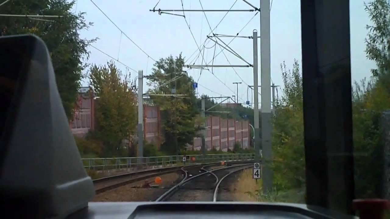 Tram Dresden  PennrichAmalieDietrichPlatz aus Sicht eines Fahrers 02102010  YouTube