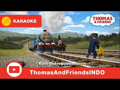 Kereta Thomas & Friends Indonesia: Karaoke - Rules and Regulations Song