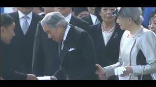 山本太郎、天皇陛下に園遊会で手紙を渡す一部始終