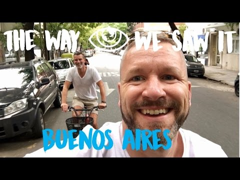 EatWith Buenos Aires / Argentina Travel Vlog #87 / The Way We Saw t