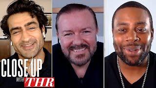 Comedy Actors Roundtable: Ricky Gervais, Kumail Nanjiani, Kenan Thompson, Dan Levy   Close Up