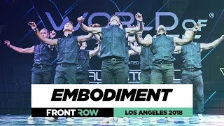Embodiment |  FrontRow | World of Dance Los Angeles 2018 | #WODLA18