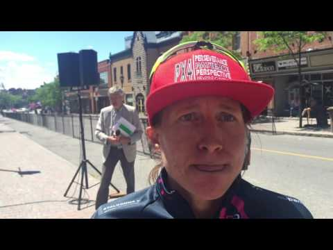 Interview with Amber Neben @ Chrono Gatineau 2016