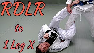 Reverse De La Riva to Single Leg X Transition by Bo Walaszek - BeltQuest Jiu Jitsu