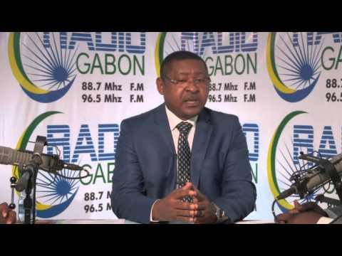 Radio Gabon - Interview de J-M. OGANDAGA, Ministre de la Fonction publique