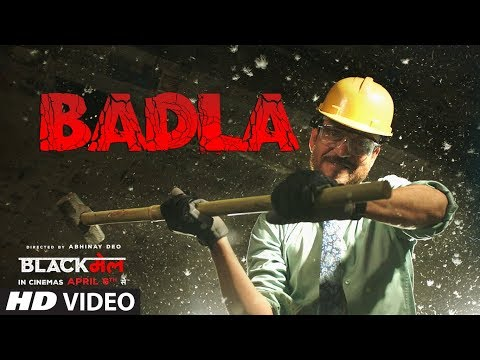 Badla Video Song | Blackमेल | Irrfan Khan | Amit Trivedi | DIVINE | Amitabh B | Latest Songs 2018