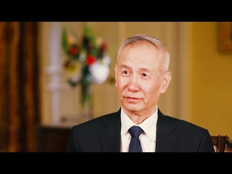 Interview with Liu He, Chinese Vice Premier and head of Chinese trade delegation