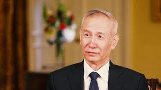 Gambar cover Interview with Liu He, Chinese Vice Premier and head of Chinese trade delegation