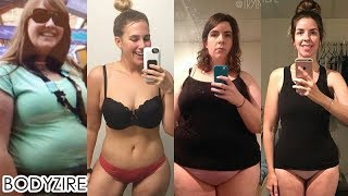 Awesome Women Body Transformation Female Obese To Fit Motivation Before And After