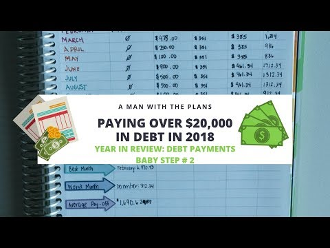 Paying off $20,000 in Debt in One Year | Year in Review Debt Payments | Baby Step #2