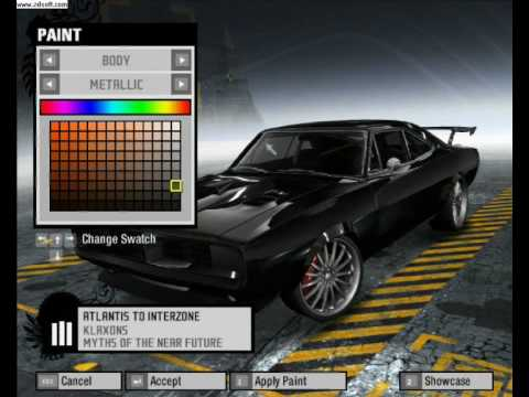 Nfs Prostreet Dodge Charger R T Tuning Youtube