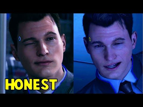 Connor Truths and Sincere Answers - Detroit Become Human