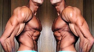 4% BODY FAT - 'Mr. Alive Muscles'