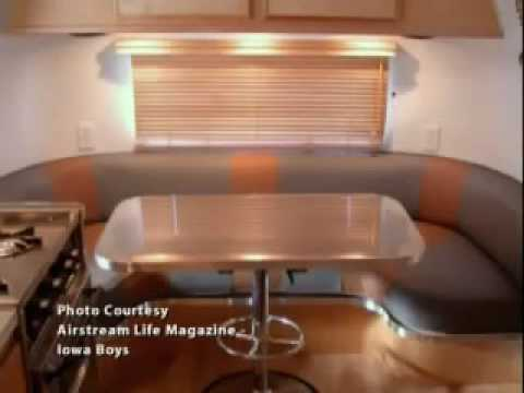vintage airstream restoration   project youtube