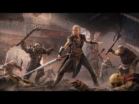 Играем за Литариэль в Middle-earth: Shadow of Mordor - Бесплатное DLC (Обзор дополнения)