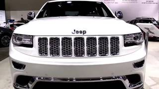 2018 Jeep Grand Cherokee Summit Limited Special First Impression Lookaround Review
