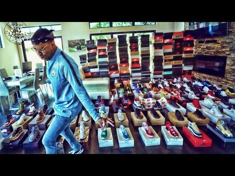 WORLDS MOST EPIC SNEAKER COLLECTION!!! (UPDATE)
