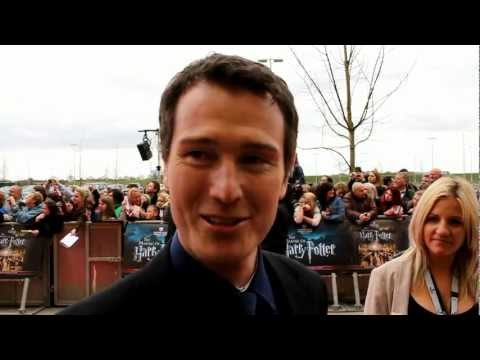 Nick Moran Interview - Harry Potter Studio Tour Grand Opening