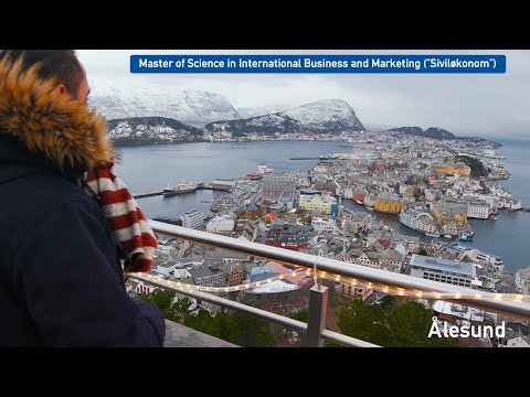 Master - Siviløkonom - M.Sc International Business and Marketing, NTNU i Ålesund