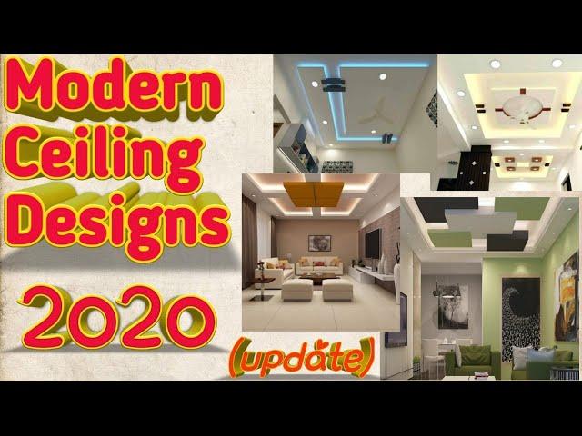 Modern Ceiling Designs Update 2020 Youtube