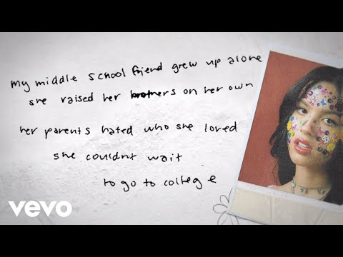Olivia Rodrigo – hope ur ok (Lyric Video)