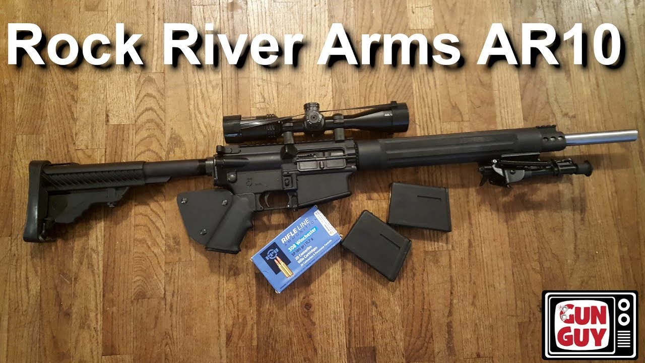 An AR10 From Rock River Arms
