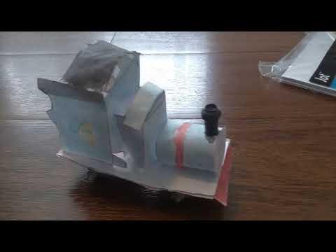 My paper engine.