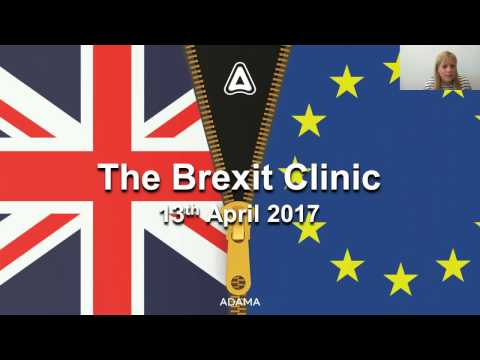 Brexit Clinic - With Cedric Porter