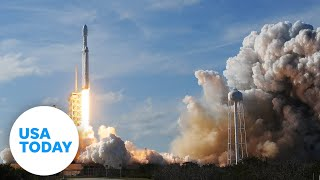 SpaceX launches first private space crew into orbit   USA TODAY