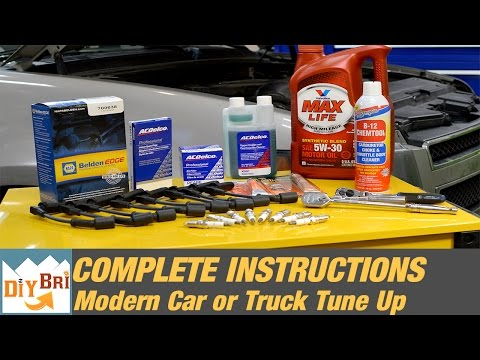 How To Tune Up a Car or Truck | Modern Tune Up Explained