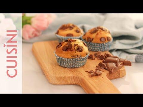 MUFFIN REZEPT | Muffins selber machen - einfach & fluffig mit Öl backen - CUISINI