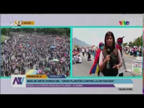 Venezolanos se plantaron contra el gobierno