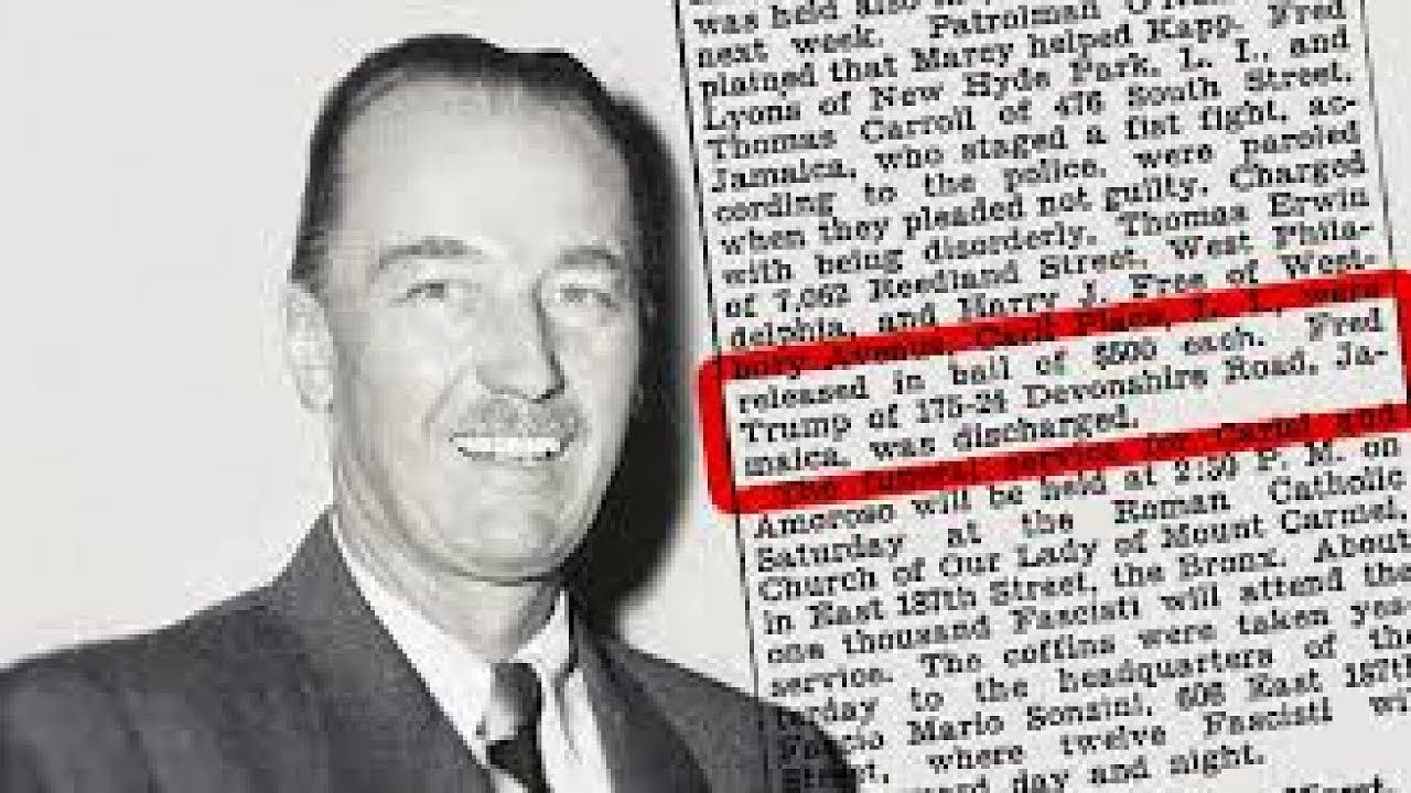 Image result for fred trump fascist arrested