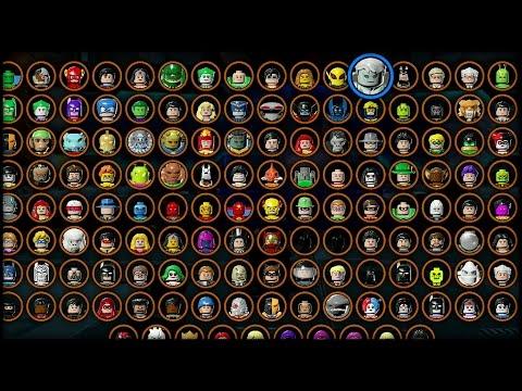 LEGO: Batman 3 - Beyond Gotham - All Characters Unlocked ...