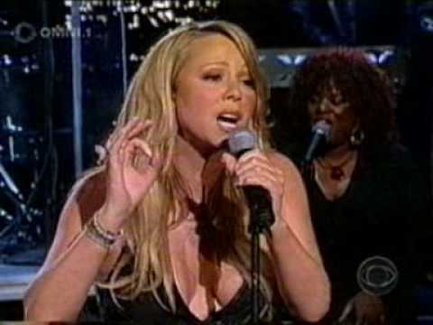 Mariah Carey - We Belong Together Live @ Letterman