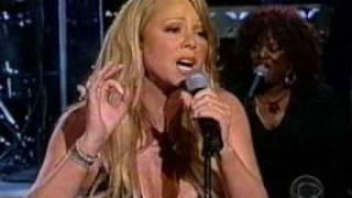 Mariah Carey - We Belong Together Live @ Letterman