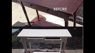 Diy Tutorial | How I Paint My Old/used Furniture New