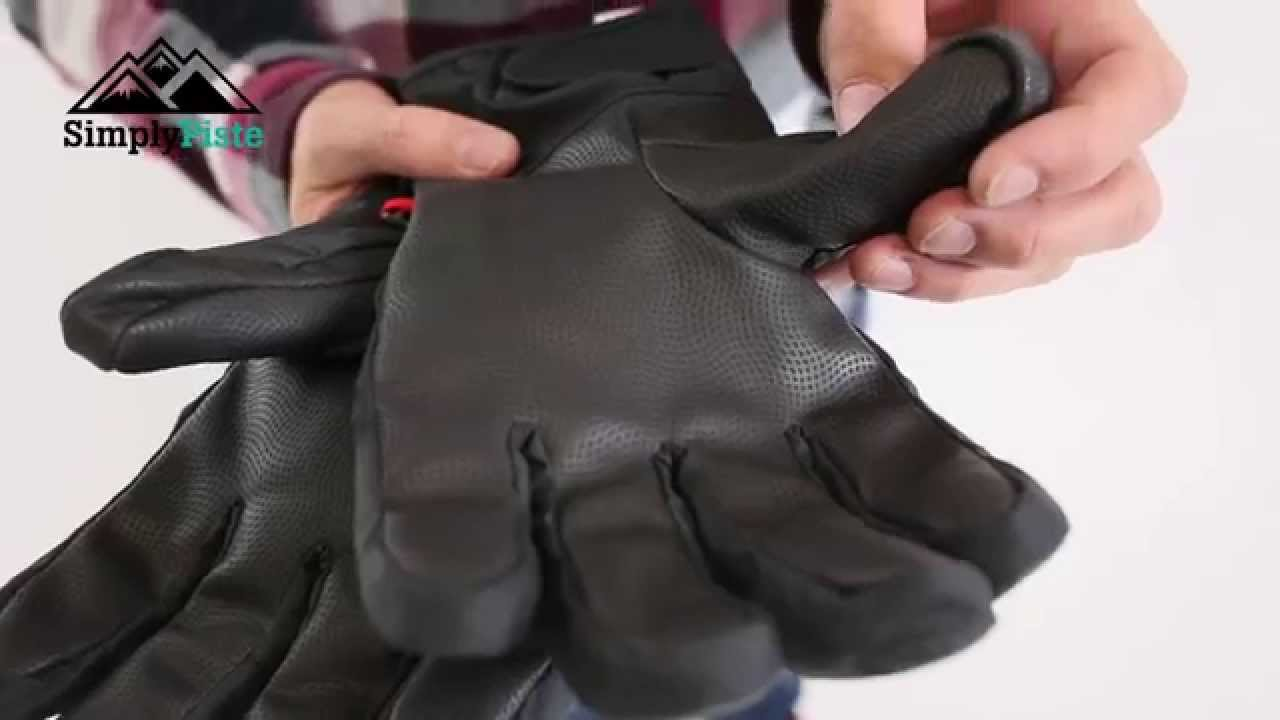 The North Face Mens Guardian Glove - Asphalt Grey - www.simplypiste.com -  YouTube 420e38277d13