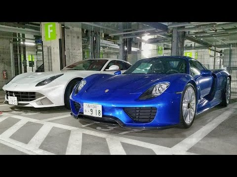 Exotic Car Spotting in Tokyo's Underground Garages | Part 5