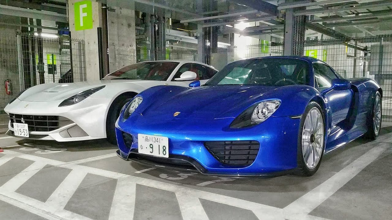 exotic car spotting in tokyo 39 s underground garages part