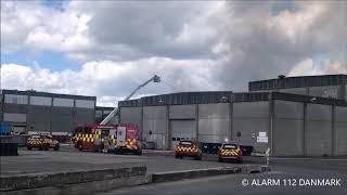 29.05.2019 - Ild i bygning - Glostrup