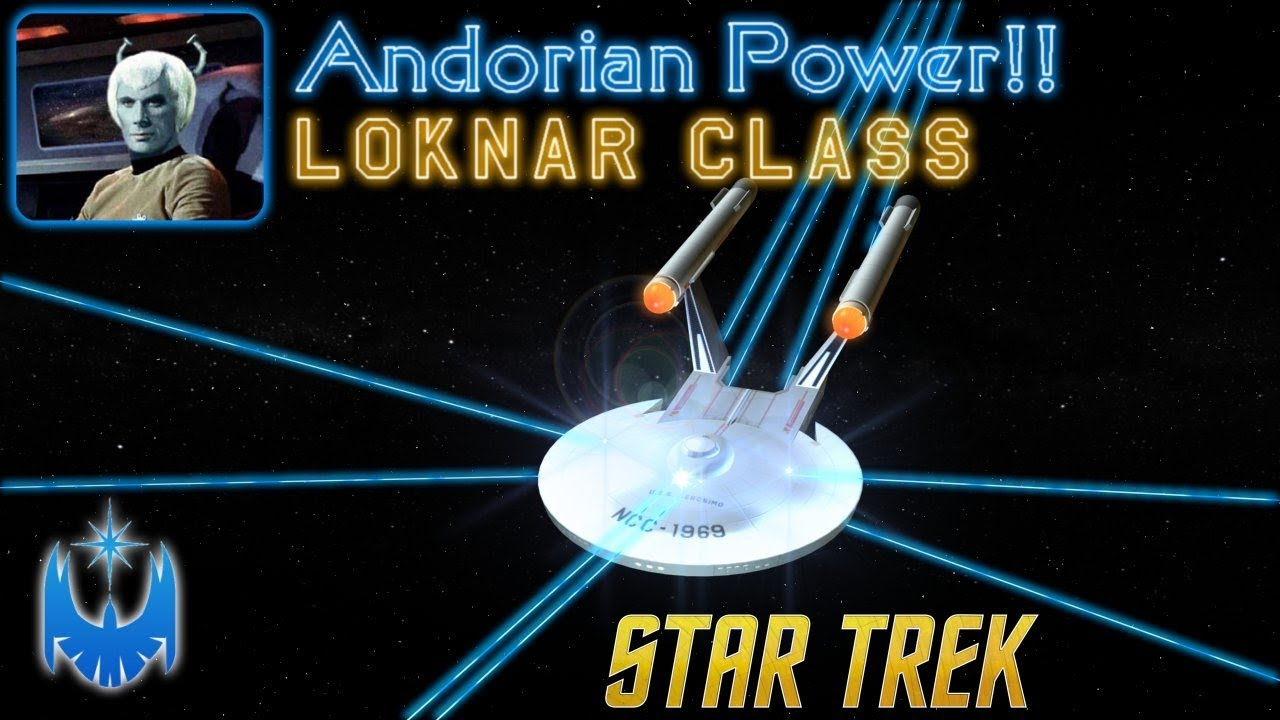 The Classic Era Starfleet Warship - Loknar Class Frigate Resurrected!