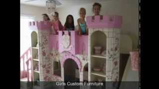 Kids Custom Playhouses |  Indoor Playsets | Kids Theme Beds | Custom Kids Bedroom Furniture