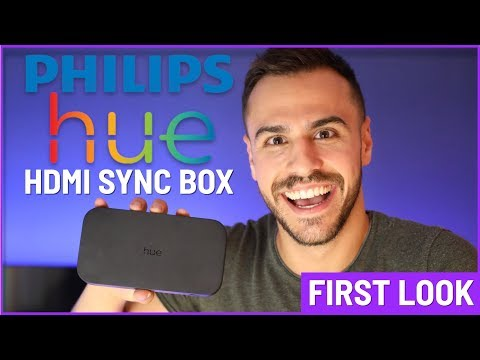 First Look: Philips Hue Play HDMI Sync Box